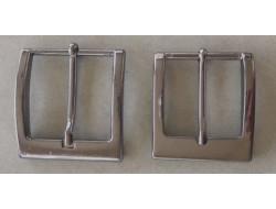 Boucle de ceinture métal brun 35 et 40 mm