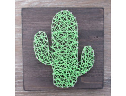 Kit stringart cactus