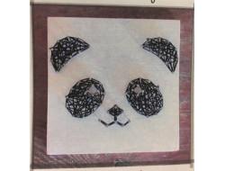 Kit stringart panda
