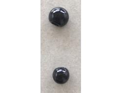 bouton boule noir