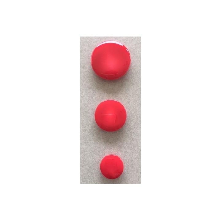 12 mm Rouge Paillettes Fleur Boutons En disponible en boîtes de 2 5 ou 10