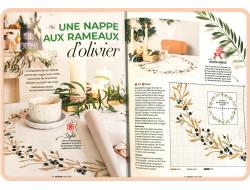 Une nappe aux rameaux d'olivier - Prima