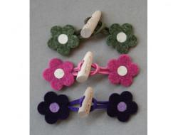 Brandebourg fleur bouton bois