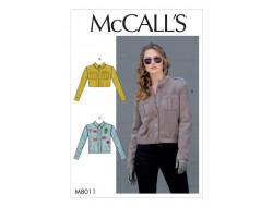 Patron de veste femme - Mc Call's M8011