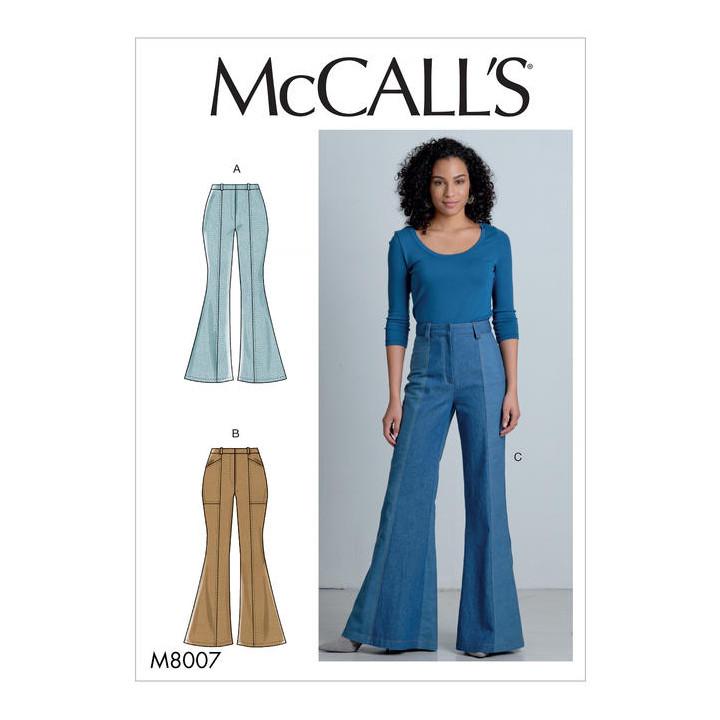 Patron pantalon femme - Mc Call's M8007