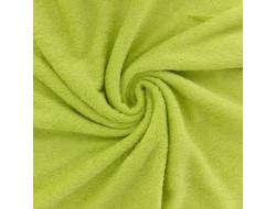 Tissu éponge bambou bio anis