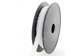 Élastique plissé - Blanc