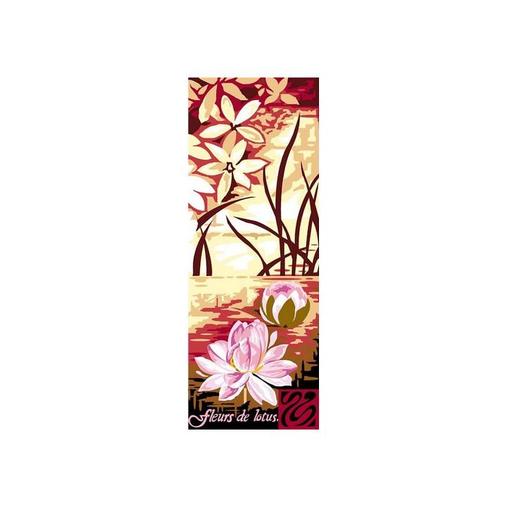 Canevas Fleurs de Lotus