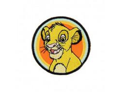 Écusson thermocollant Le Roi Lion