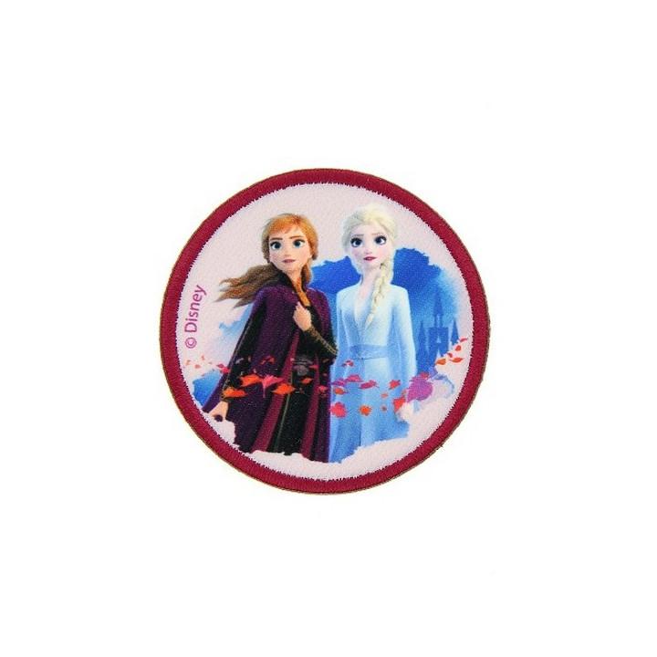 Écusson thermocollant La Reine des Neiges 2 - Anna et Elsa