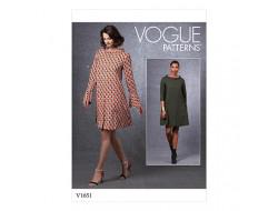Patron robe - Vogue 1651