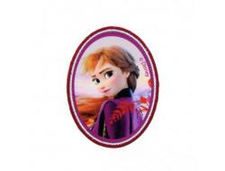 Écusson thermocollant La Reine des Neiges 2 - Portrait Anna