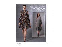 Patron robe - Vogue 1652