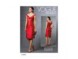 Patron robe - Vogue 1655