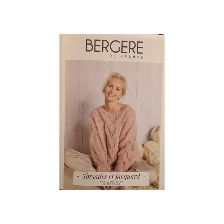 Magazine tricot N°28, Spécial crochet , Bergère de France