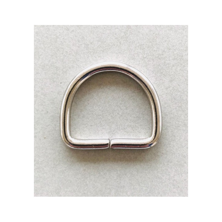 Demi anneau en métal 30 mm