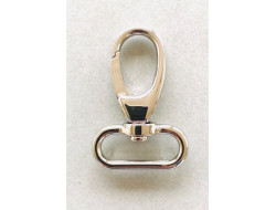 Mousqueton anneau ovale 30 mm