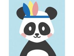 Kit canevas enfants Pandi panda