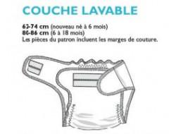 Tuto couche lavable + culotte de protection