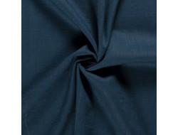 Tissu lin bleu pétrole