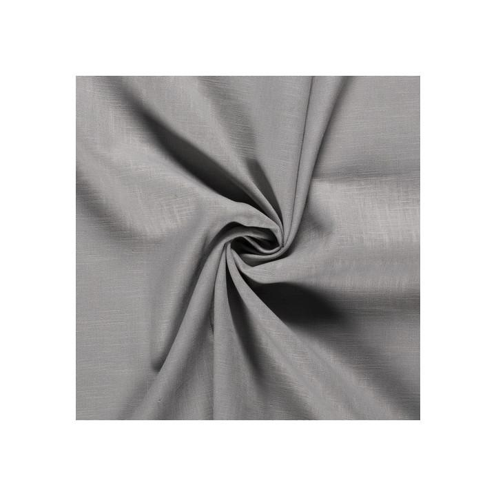 Tissu lin gris