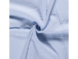 Tissu lin bleu ciel