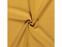 Tissu lin jaune ocre