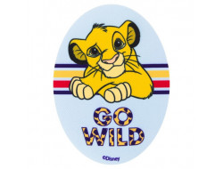 Écusson thermocollant Le Roi Lion Go Wild