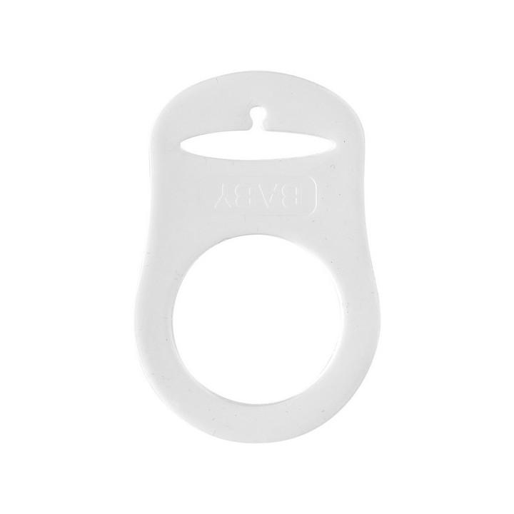 Support tétine en silicone transparent