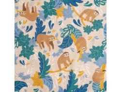 Tissu popeline de coton Just Chill - Katia Fabrics