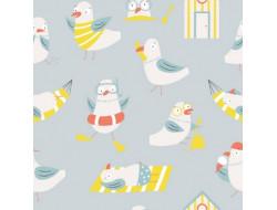Tissu jersey Seagull Sand - Katia Fabrics