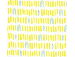 Tissu Sweatshirt Sand Houses & Fish - Katia Fabrics