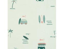Tissu Sweatshirt Surfing Vans - Katia Fabrics