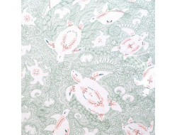 Tissu Sweatshirt Turtles - Katia Fabrics