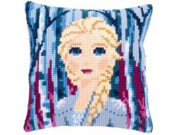 Kit coussin La Reine des Neiges 2 - Portrait Elsa