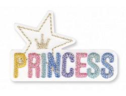 Écusson thermocollant Princess étoile