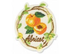 Écusson thermocollant abricot