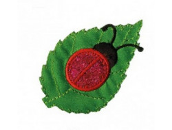 Écusson thermocollant coccinelle