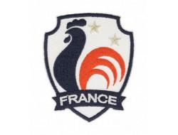 Écusson thermocollant blason coq France