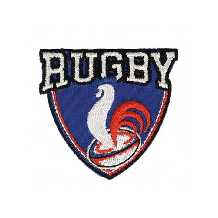 Écusson thermocollant rugby coq français