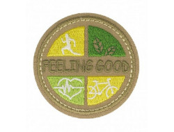 Écusson thermocollant Nature Ecologie Feeling Good