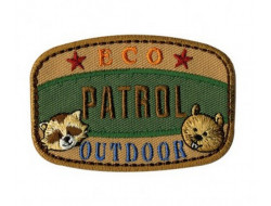 Écusson thermocollant Nature Ecologie Patrol Eco