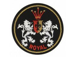 Écusson thermocollant blason Royal