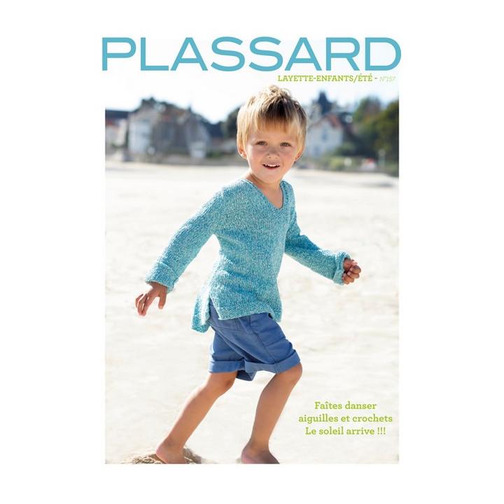 Magazine tricot N°157 - Layette-Enfant / été - Plassard