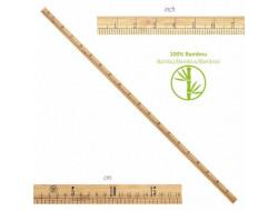 Règle couturière 1 mètre en bambou