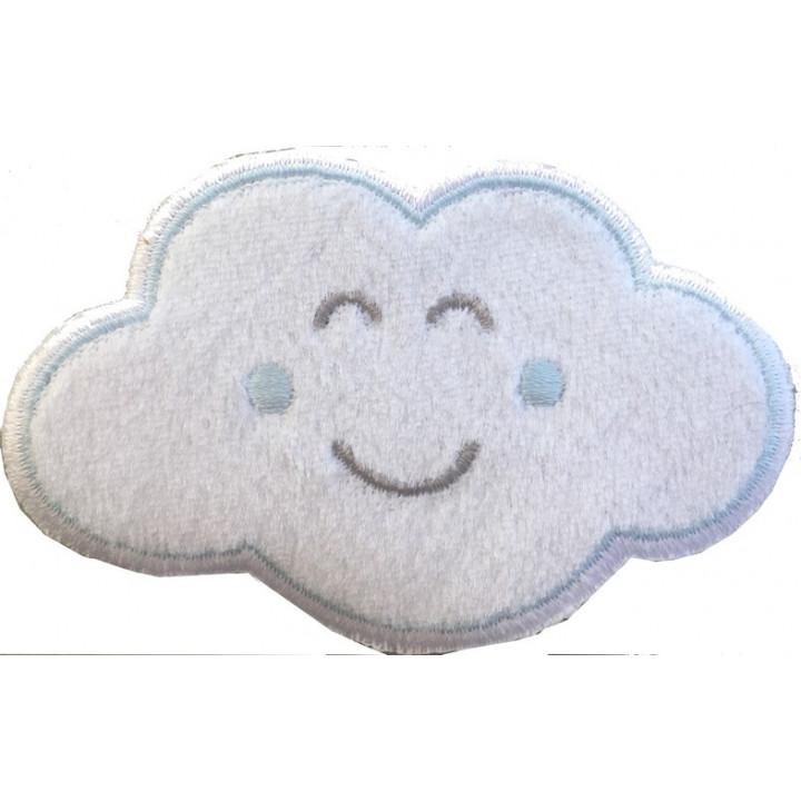 Écusson thermocollant nuage