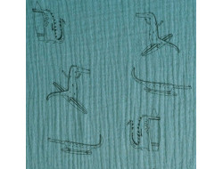 Tissu Mousseline Crocodile - Katia Fabrics