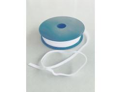 Tresse élastique coton Blanc