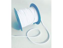 Tresse élastique polyester Blanc