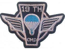 Ecusson thermocolant militaire